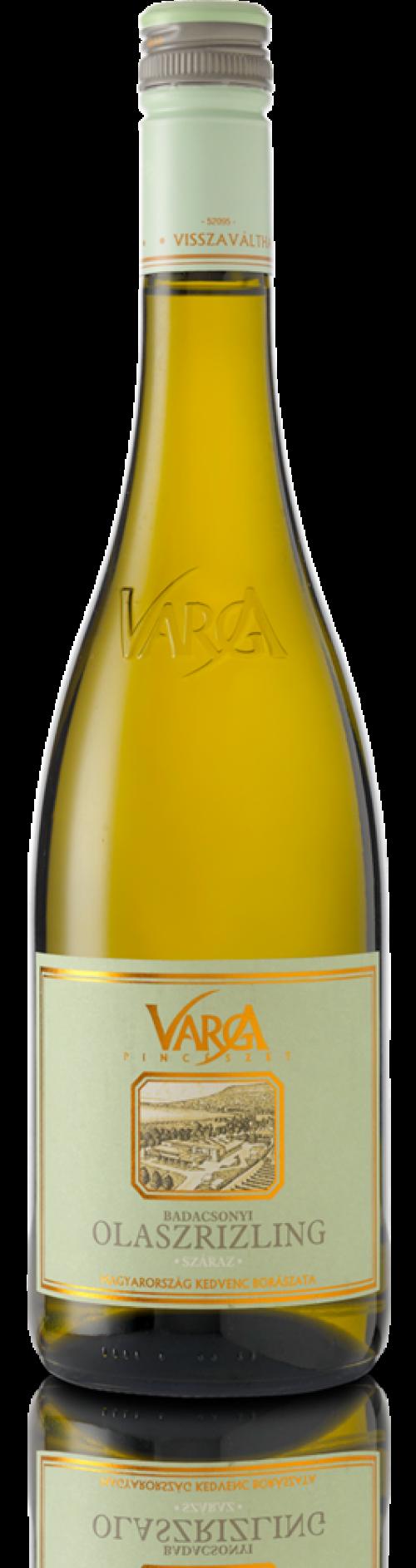 Varga Olaszrizling új palack | Csapolt.hu