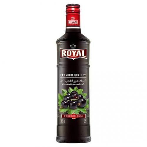 Royal Feketeribizlilikőr 30%   Csapolt.hu