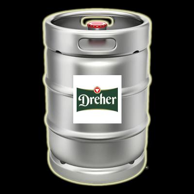 Dreher Gold 50 literes hordóban